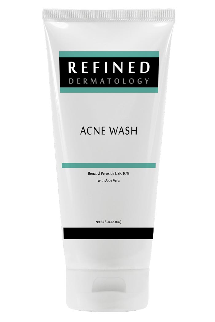 RefinedMD Acne Wash 10% with Aloe Vera