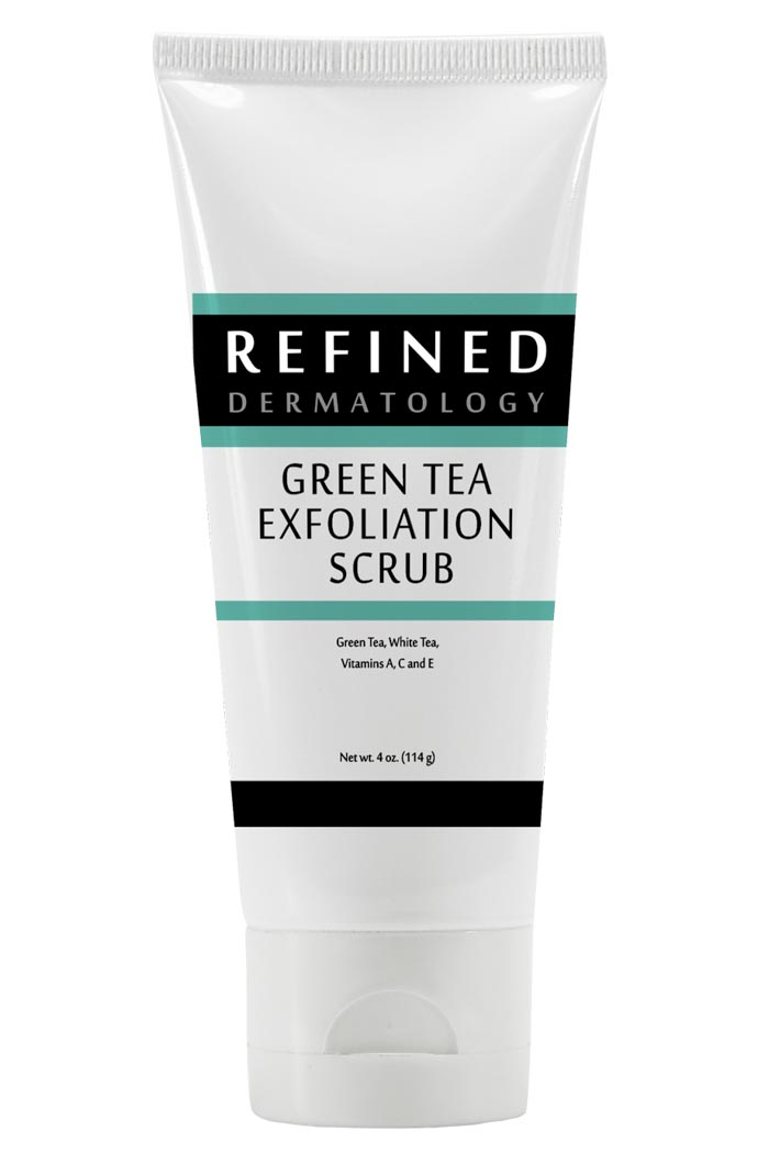 RefinedMD Green Tea Exfoliating Scrub