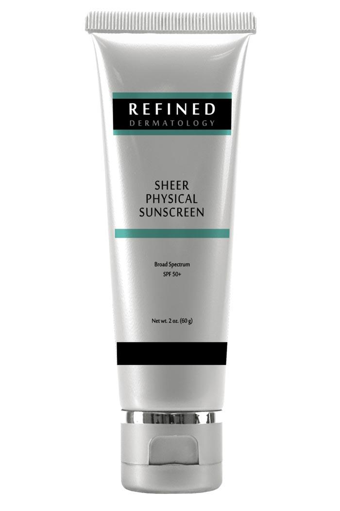 RefinedMD Sheer Physical Sunscreen Tube SPF 50