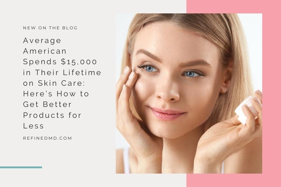Average American Spends $15,000 on Skin Care | RefinedMD