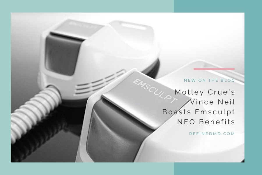 Motley Crue's Vince Neil Boasts Emsculpt NEO Benefits   RefinedMD